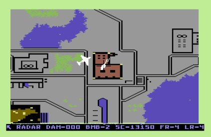 Raid on Bungeling Bay C64 20