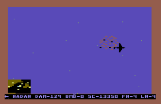 Raid on Bungeling Bay C64 22