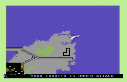 Raid on Bungeling Bay C64 23