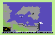 Raid on Bungeling Bay C64 30
