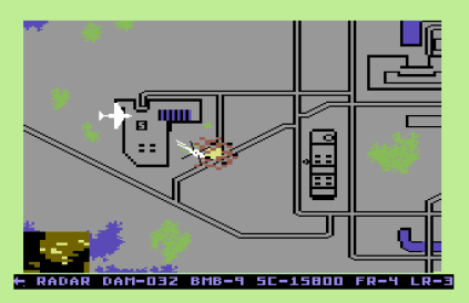 Raid on Bungeling Bay C64 31