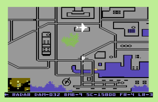 Raid on Bungeling Bay C64 32