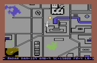 Raid on Bungeling Bay C64 33