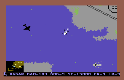 Raid on Bungeling Bay C64 34