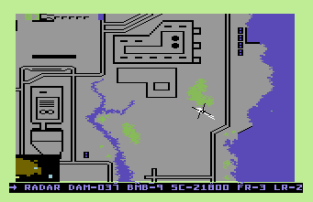 Raid on Bungeling Bay C64 42