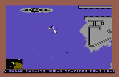 Raid on Bungeling Bay C64 44