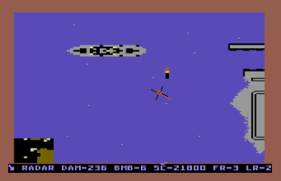 Raid on Bungeling Bay C64 45