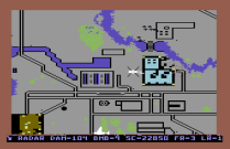 Raid on Bungeling Bay C64 49