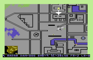 Raid on Bungeling Bay C64 56