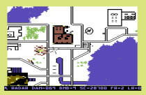 Raid on Bungeling Bay C64 59