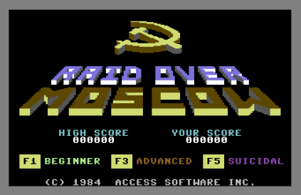 Raid Over Moscow C64 01