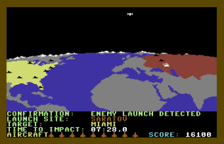 Raid Over Moscow C64 21