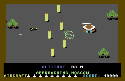 Raid Over Moscow C64 42