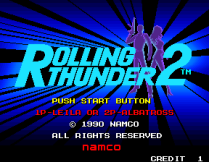 Rolling Thunder 2 Arcade 08
