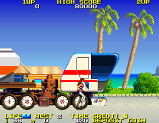 Rolling Thunder 2 Arcade 10
