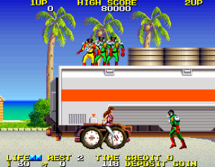 Rolling Thunder 2 Arcade 12