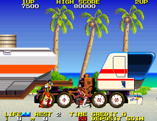 Rolling Thunder 2 Arcade 22