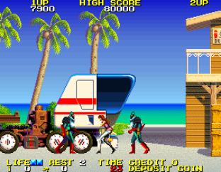 Rolling Thunder 2 Arcade 23
