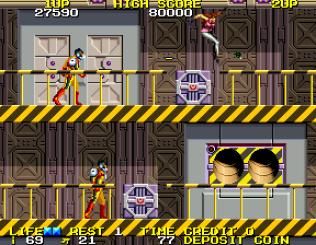 Rolling Thunder 2 Arcade 43
