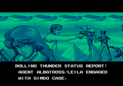 Rolling Thunder 3 Megadrive 01
