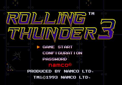 Rolling Thunder 3 Megadrive 09