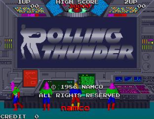 Rolling Thunder Arcade 01