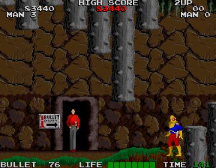 Rolling Thunder Arcade 86