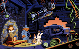 Sam and Max Hit the Road PC 07