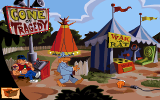 Sam and Max Hit the Road PC 22