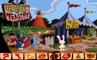 Sam and Max Hit the Road PC 26