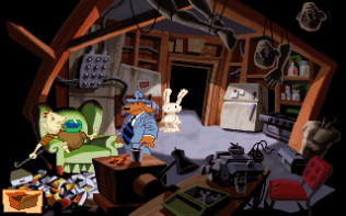 Sam and Max Hit the Road PC 33