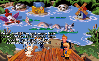 Sam and Max Hit the Road PC 40