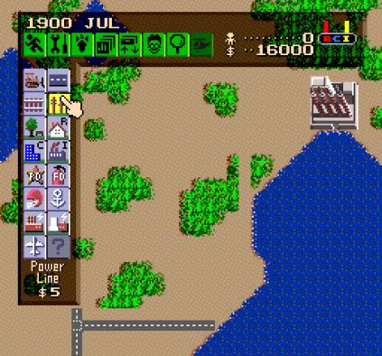 SimCity SNES 009