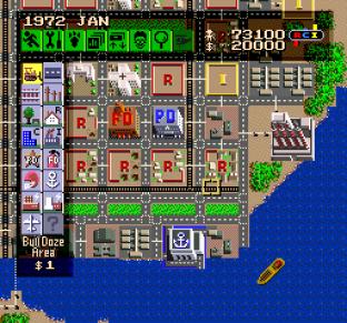SimCity SNES 100