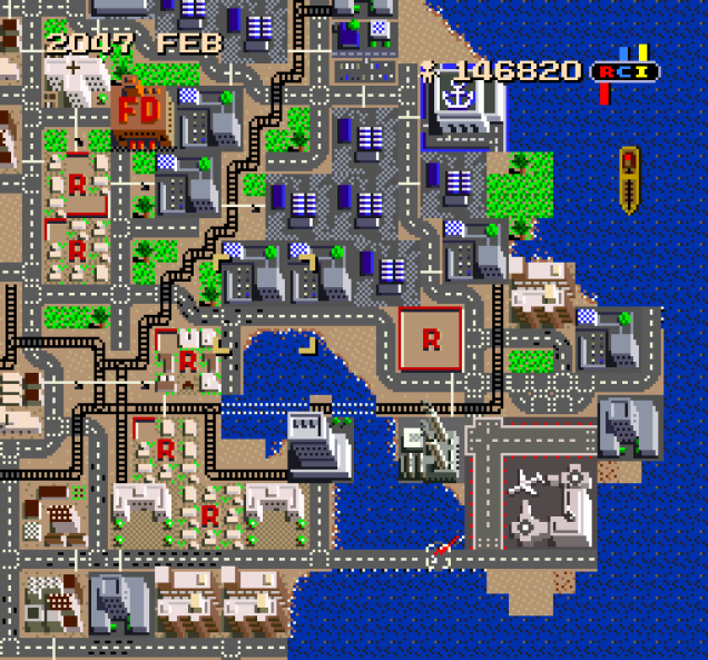 SimCity SNES 133