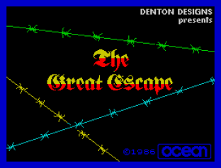 The Great Escape ZX Spectrum 01