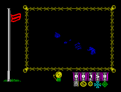 The Great Escape ZX Spectrum 09