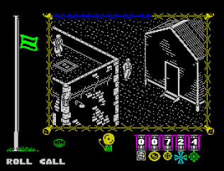 The Great Escape ZX Spectrum 87