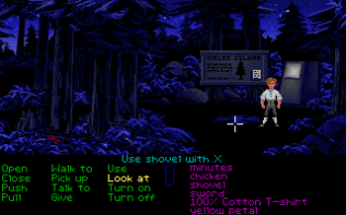 The Secret of Monkey Island PC 88