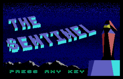 The Sentinel Atari ST 01