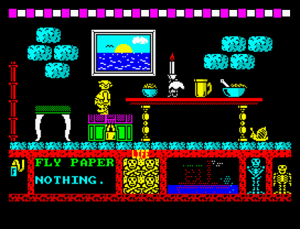 Three Weeks in Paradise ZX Spectrum 09