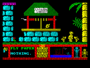 Three Weeks in Paradise ZX Spectrum 10
