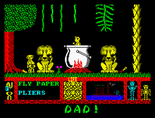 Three Weeks in Paradise ZX Spectrum 11
