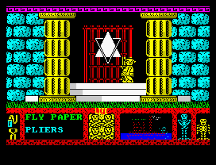 Three Weeks in Paradise ZX Spectrum 12