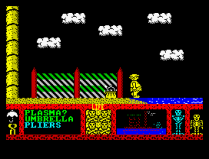 Three Weeks in Paradise ZX Spectrum 13