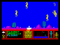 Three Weeks in Paradise ZX Spectrum 14