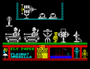 Three Weeks in Paradise ZX Spectrum 22