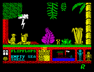 Three Weeks in Paradise ZX Spectrum 33