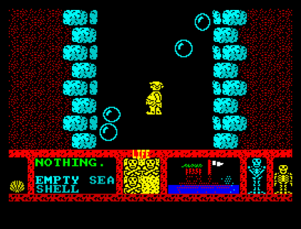 Three Weeks in Paradise ZX Spectrum 34