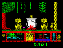 Three Weeks in Paradise ZX Spectrum 40